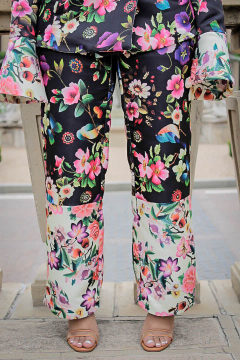 Abloom Satin Trousers