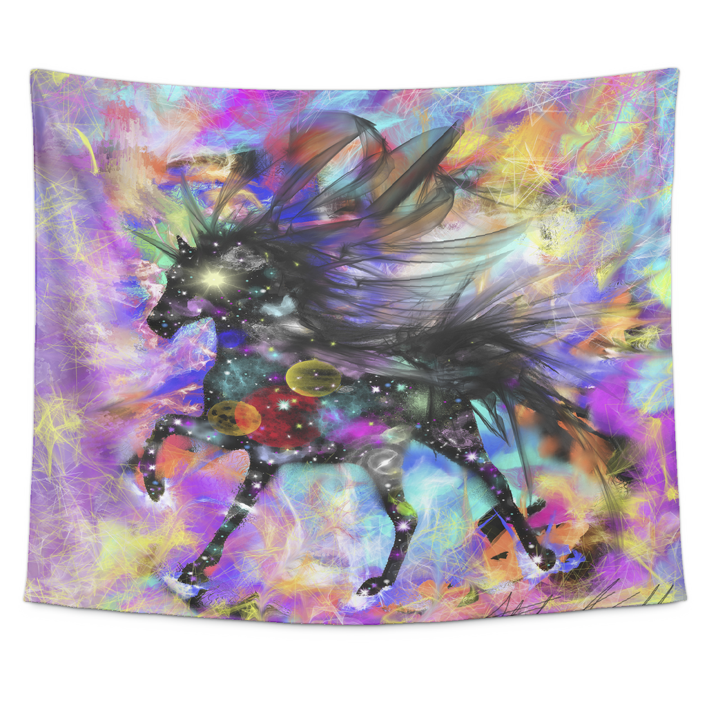 Galaxy Horse Tapestry Trend Trotter
