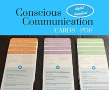 Conscious Communication Cards for Parents - Digital Subscription License