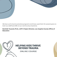 Helping Kids Thrive Beyond Trauma