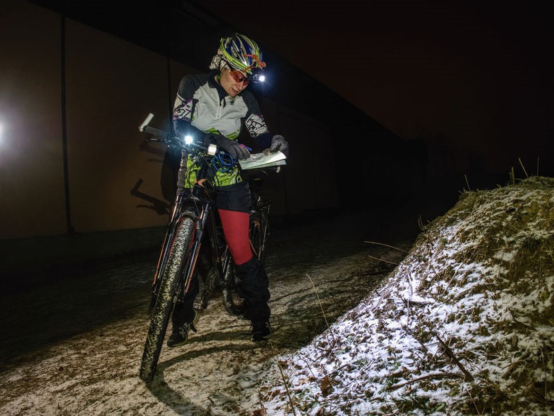 Cycling and Running Safely in the Dark