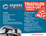 Triathlon check list
