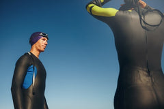 Properly fitted wetsuit