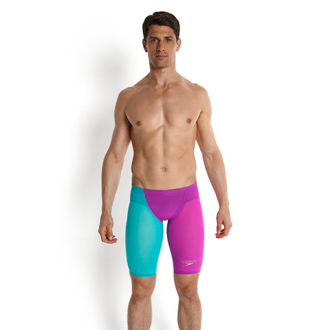 Speedo - Mens Lazer Racer Elite 2 Jammer Purple/Blue