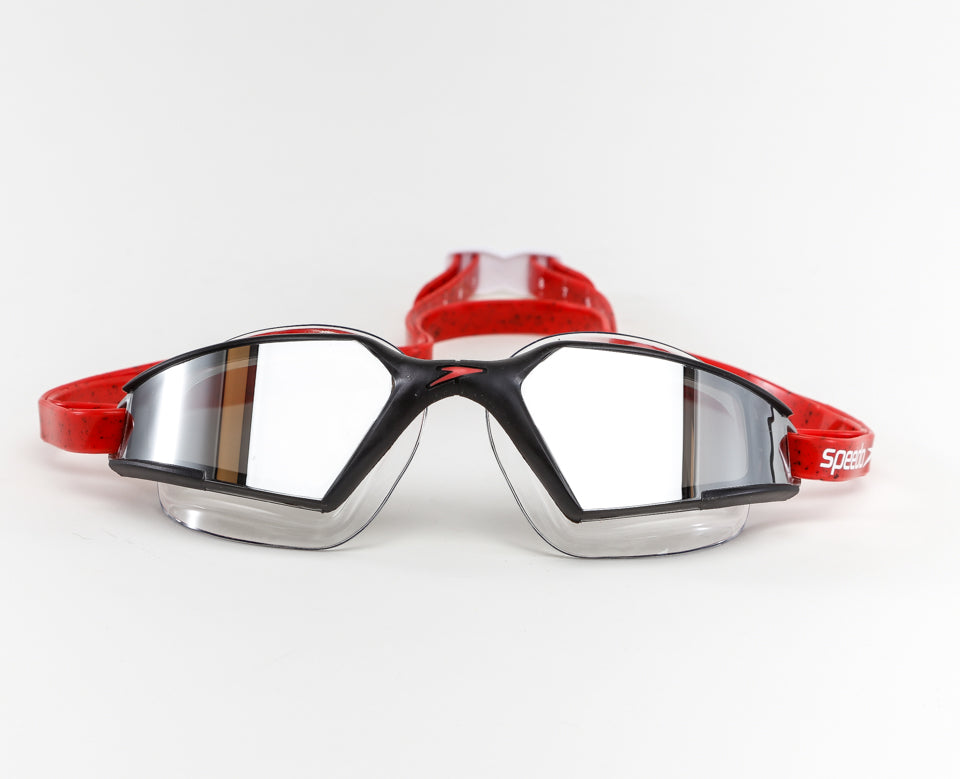 Speedo - Goggles Aquapulse Max 2 Mirror Red Black