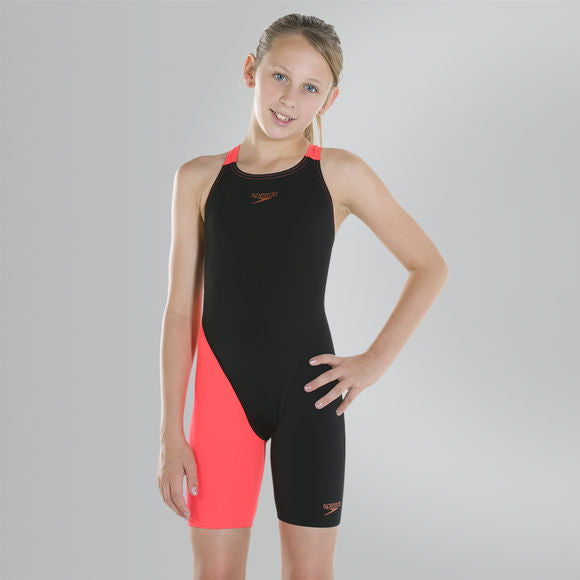 Speedo - Girls Junior Fastskin Endurance+ Openback Kneeskin