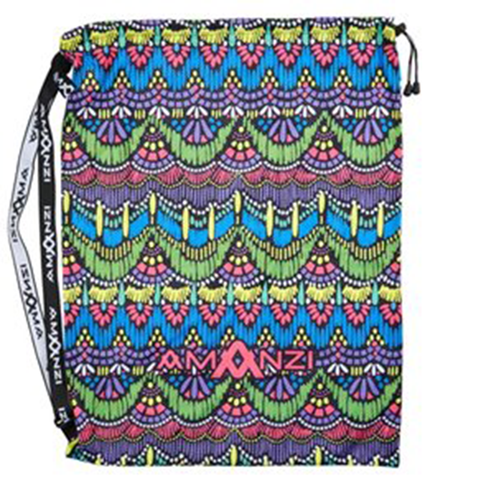Amanzi - Mesh Gear Bag Persian Jewel