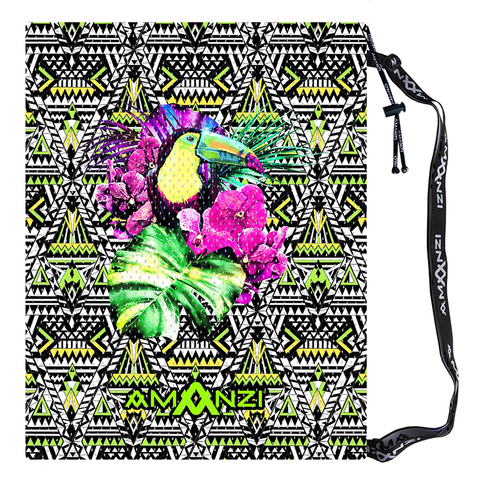 Amanzi - Mesh Gear Bag Toucan Tropics