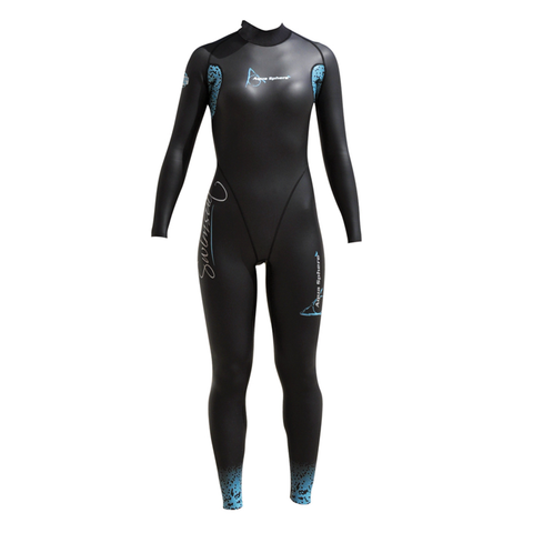 Aqua Sphere - Womens Aqua Skin Full Suit Winter 1mm - Sharks Swim Shop