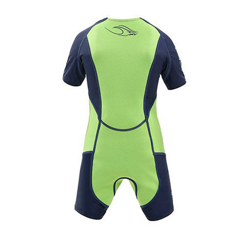 Aqua Sphere - Kids Stingray Hp Short Sleeve Green - Sharks Swim Shop