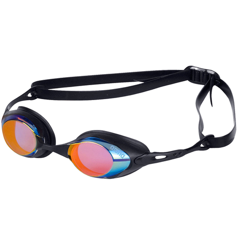 Arena - Cobra Mirror Goggles Blue/Orange/Black - Sharks Swim Shop