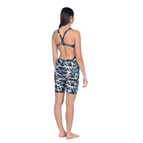 Arena - Womens Power Triangle Full Body Black/Multi