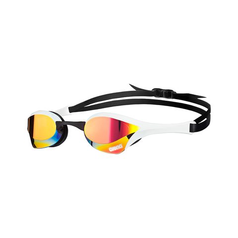 Arena - Cobra Ultra Mirror White - Sharks Swim Shop