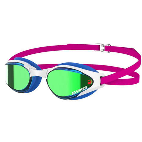 Swans - Ascender MIT (Mirror Inserted Lenses) Blue White Pink