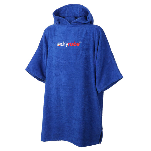 DRYROBE - SHORT SLEEVE TOWEL Royal Blue - Sharks Swim Shop