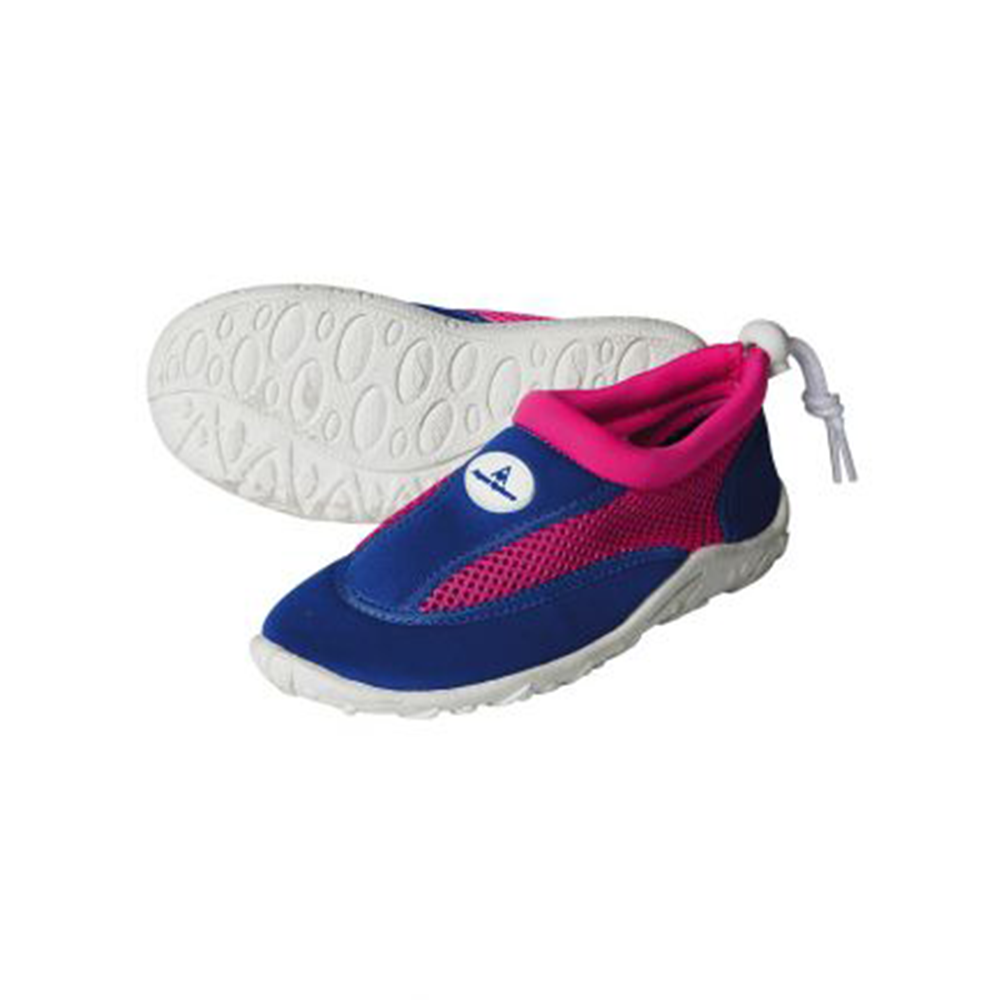 Aqua Sphere - Cancun Junior Water Shoes Royal Blue/Bright Pink