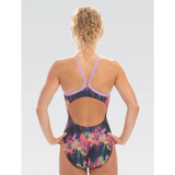 Dolfin - Womens Uglies V-2 Back One-Piece Swimsuit City Lights