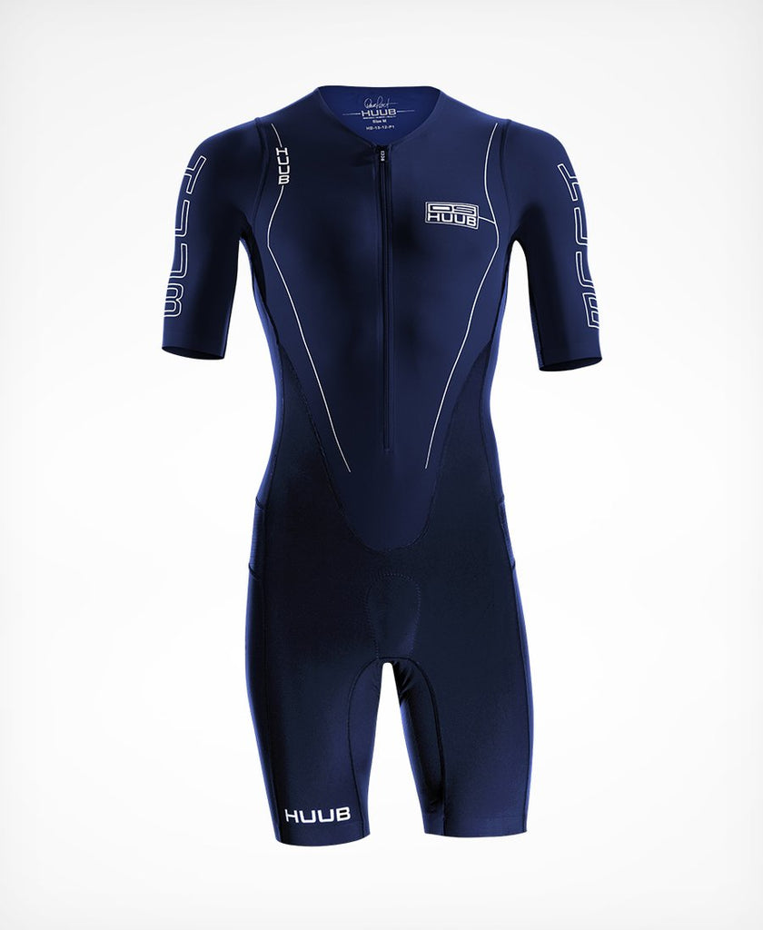 HUUB - Dave Scott Long Course Suit Sleeved - Navy
