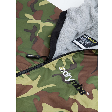 DRYROBE ADVANCE - Long Sleeve Camo & Grey - Sharks Swim Shop