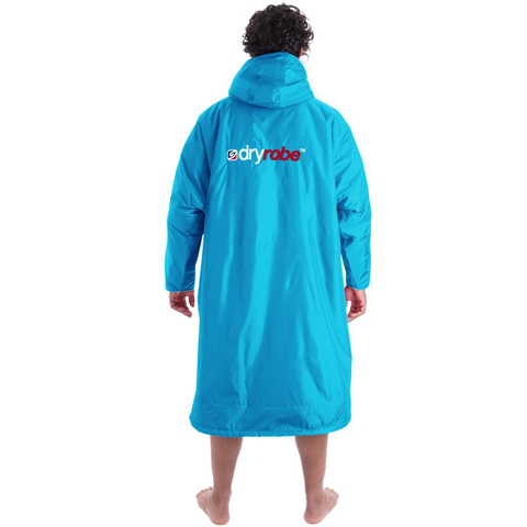 DRYROBE ADVANCE - Long Sleeve Sky Blue & Grey - Sharks Swim Shop