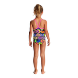 FUNKITA - Toddler Girls Printed One Piece Dunking Donuts