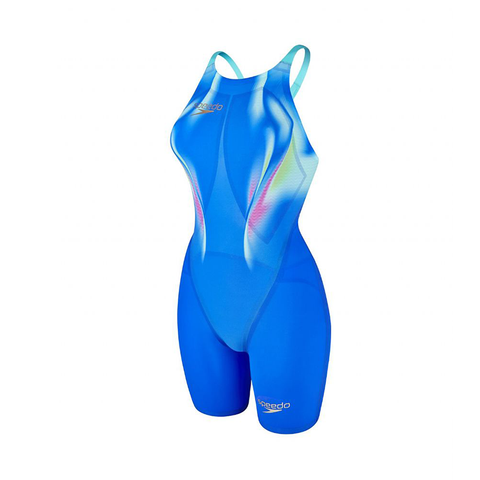 Speedo - Womens Lazor Elite 2 Open Back Kneeskin Blue/Blue
