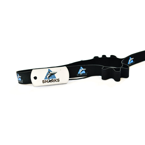 Sharks - Energy Number Belt for Running, Cycling or Triathlon