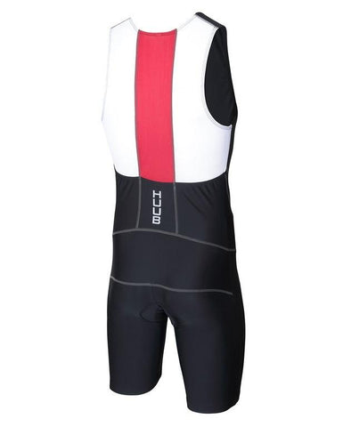 HUUB - Men's Essential Tri Suit Black/Red - Sharks Swim Shop
