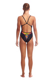 FUNKITA - Girls Single Strap One Piece Wing Lovebird