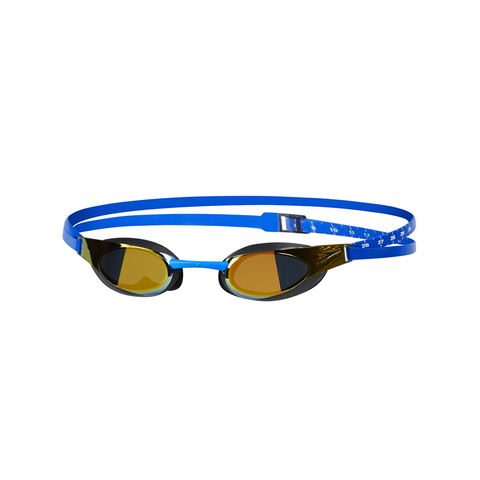 Speedo - Goggles Fastskin Elite Mirror Blue/Gold - Sharks Swim Shop