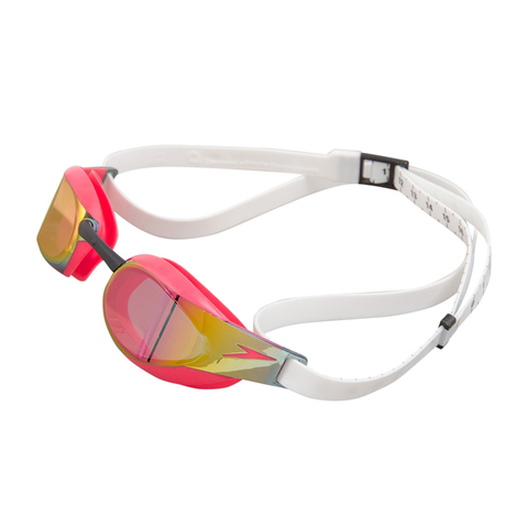Speedo - Goggles Racing Fastskin Elite Mirror White Red