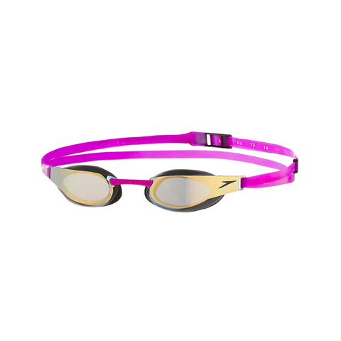 Speedo - Goggles Fastskin Elite Mirror Purple/Gold - Sharks Swim Shop