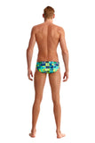 FUNKY TRUNKS - Mens Brief Classic Pop Tropo