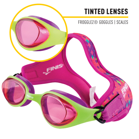Finis - Frogglez Goggles Scales Tint - Sharks Swim Shop