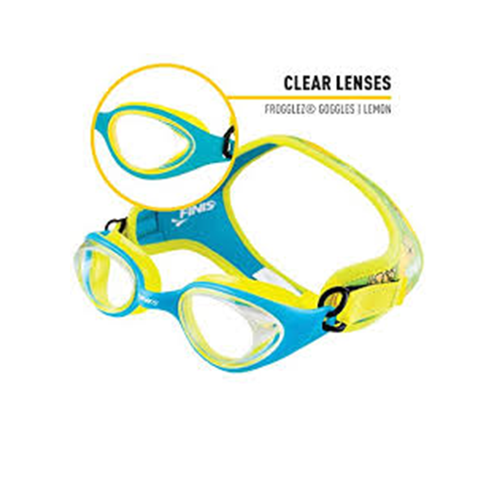c4d4961f1b66 ... Finis - Frogglez Goggles Lemon - Sharks Swim Shop