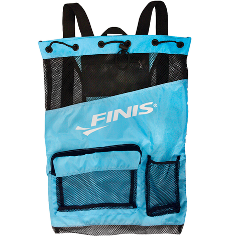 Finis - Ultra Mesh Backpack Aqua Blue/ Black - Sharks Swim Shop