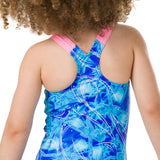Speedo - Girls Disney Frozen Digital Placement 1 Piece