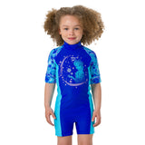 Speedo - Girls Swimsuit All in One Disney Frozen Blue