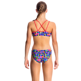 FUNKITA - Girls Criss Cross Two Piece Inked