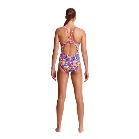 FUNKITA - Ladies Diamond Back One Piece Bee Bop