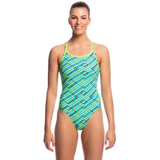 FUNKITA - Ladies Diamond Back One Piece Celcius