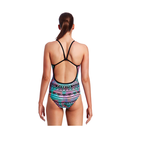 FUNKITA - Ladies Single Strap One Piece Crown Princess - Sharks Swim Shop