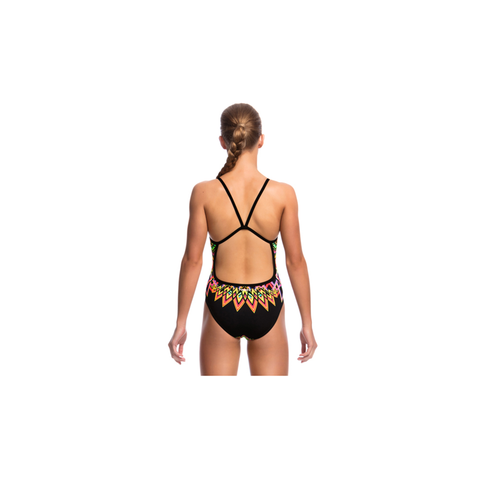 FUNKITA - Ladies Single Strap One Piece Go Safari - Sharks Swim Shop