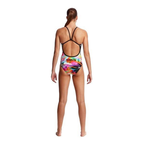 FUNKITA - Ladies Single Strap One Piece Hail Caesar - Sharks Swim Shop