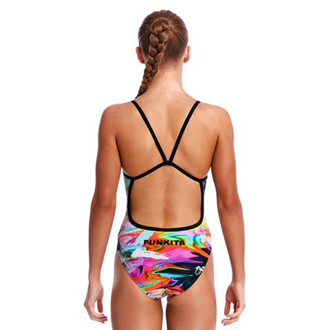 FUNKITA - Girls Single Strap One Piece Hail Caesar - Sharks Swim Shop
