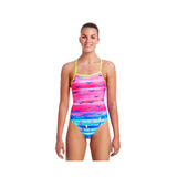 FUNKITA - Ladies Tie Me Tight One Piece Regatta Royale