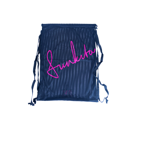 Funkita - Mesh Gear Bag Still Black - Sharks Swim Shop