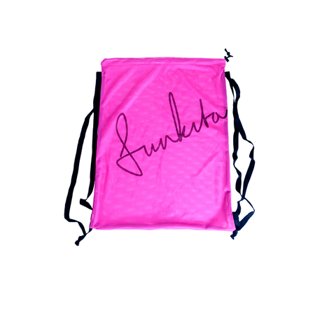 Funkita - Mesh Gear Bag Still Pink - Sharks Swim Shop