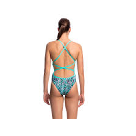 FUNKITA - Ladies Strapped in One Piece So Vane - Sharks Swim Shop