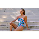 FUNKITA - Ladies Tie Me Tight One Piece Split Scene